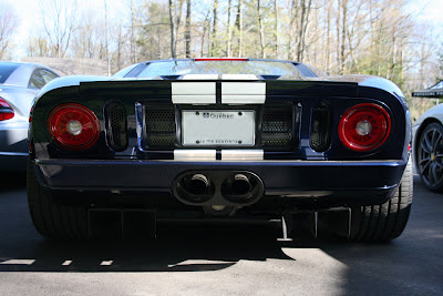 Ford GT Rear Diffuser Splitter