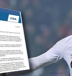 PAOLO GUERRERO: FIFA le rebajó el castigo 6 seis meses y jugará el Mundial Rusia 2018