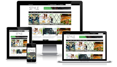 Free Download SALE Style Magazine Blogger Template