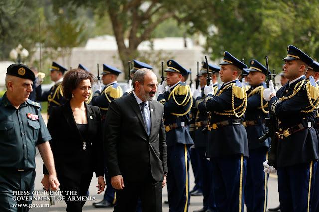 Visita El Líbano el premier de Armenia