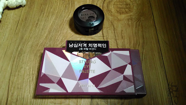 Review; Aritaum's Styling Eye Palette #02 Fatal Burgundy