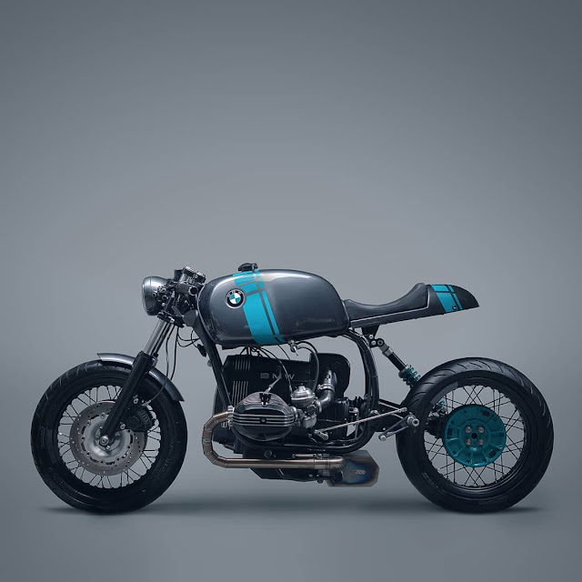 Elemental Custom Cycles BMW R80 Cafe Racer
