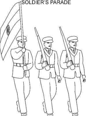 Happy Republic Day HD Drawings