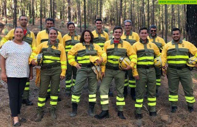El Ayuntamiento de Tijarafe continúa formando al grupo de voluntarios forestales