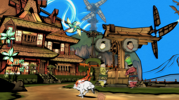 OKAMI HD PC Game Free Download Screenshot 2