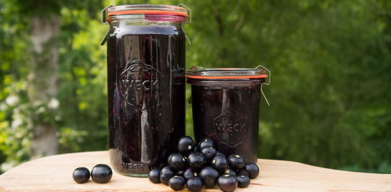 Garden Huckleberry Jam. Photo: Tyrant Farms
