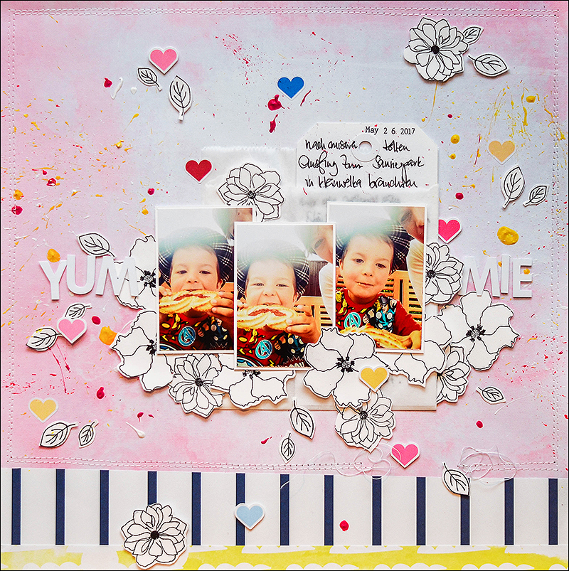 Stephanie Berger - Scrapbooking - Layout - Studio Forty - Crop im Pott