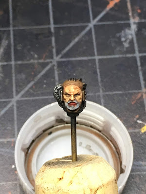 Grey Knights Grand Master Voldus WIP head