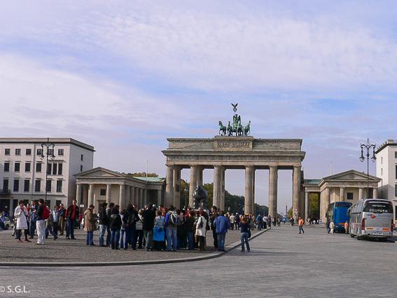 Puerta de Brandeburgo. Berlin en 4 dias