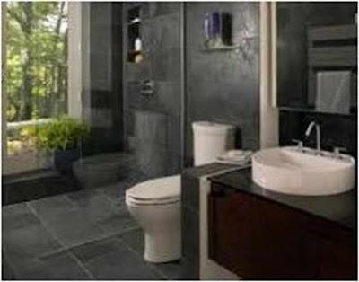 Secret Bathroom Ideas With Stone Tile Fantastic