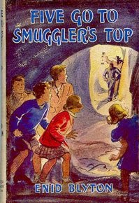 Jacket Cover for Enid Blyton's Five Go to Smuggler's Top