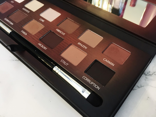 Right side of shades in the Master Series Palette