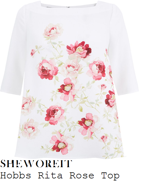 kim-murray-hobbs-rita-white-pink-and-green-rose-floral-print-half-sleeve-relaxed-fit-top