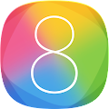 Aplikasi tema iPhone iOS 8 Launcher HD Retina Theme Android