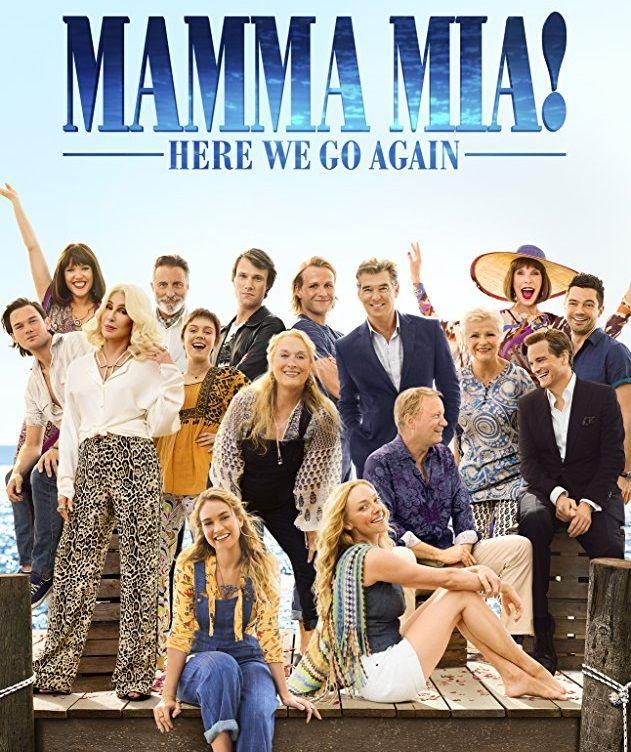 صدور الجزء الثاني من الفيلم الغنائي ماما ميا Mamma Mia