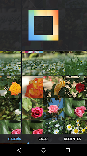 Layout from Instagram - Android