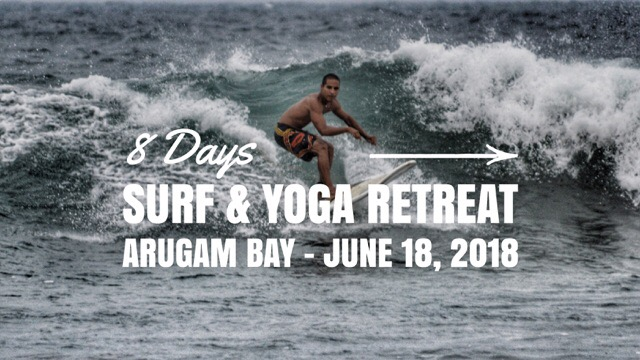 Surf and Yoga Retreat in Arugam Bay