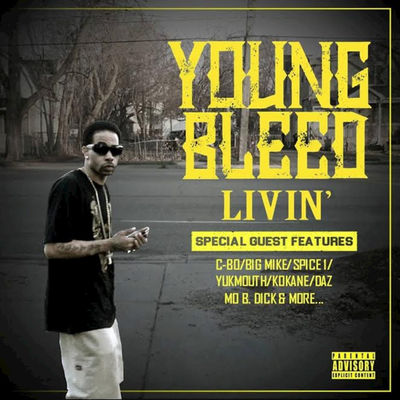 Young Bleed - Livin' - Album Download, Itunes Cover, Official Cover, Album CD Cover Art, Tracklist