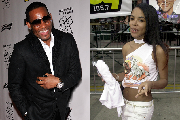 R kelly and aaliyah married