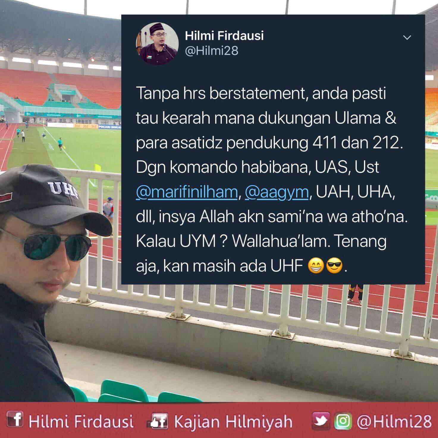 Bingung Arah Dukungan Ust Yusuf Mansur? Ini Nasihat Ustadz Muda Kota Bogor