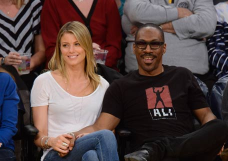 Eddie Murphy and girlfriend paige Butcher