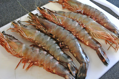 Frozen Giant Tiger Shrimp Seafood Product