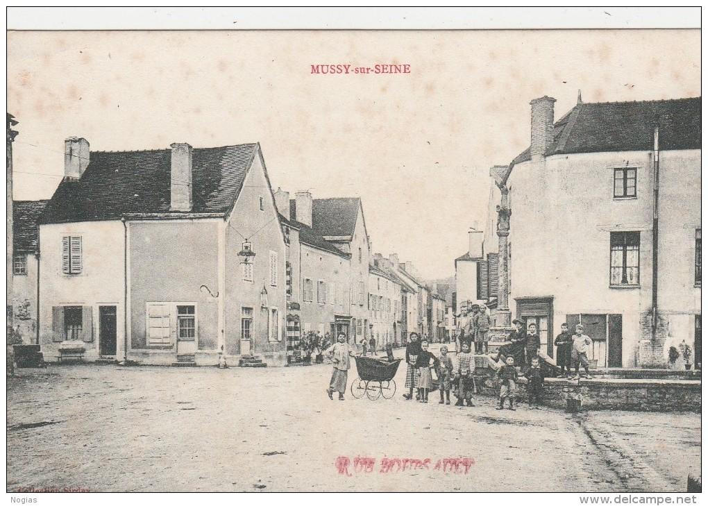 rue boursault, Mussy sur seine