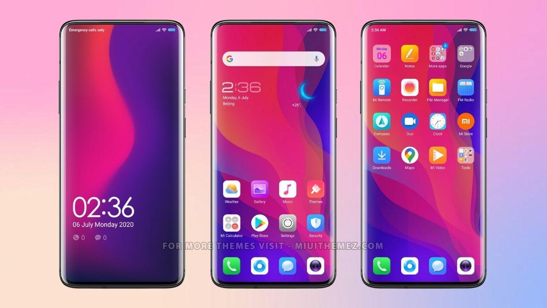 Oppo Theme for Xiaomi Phones
