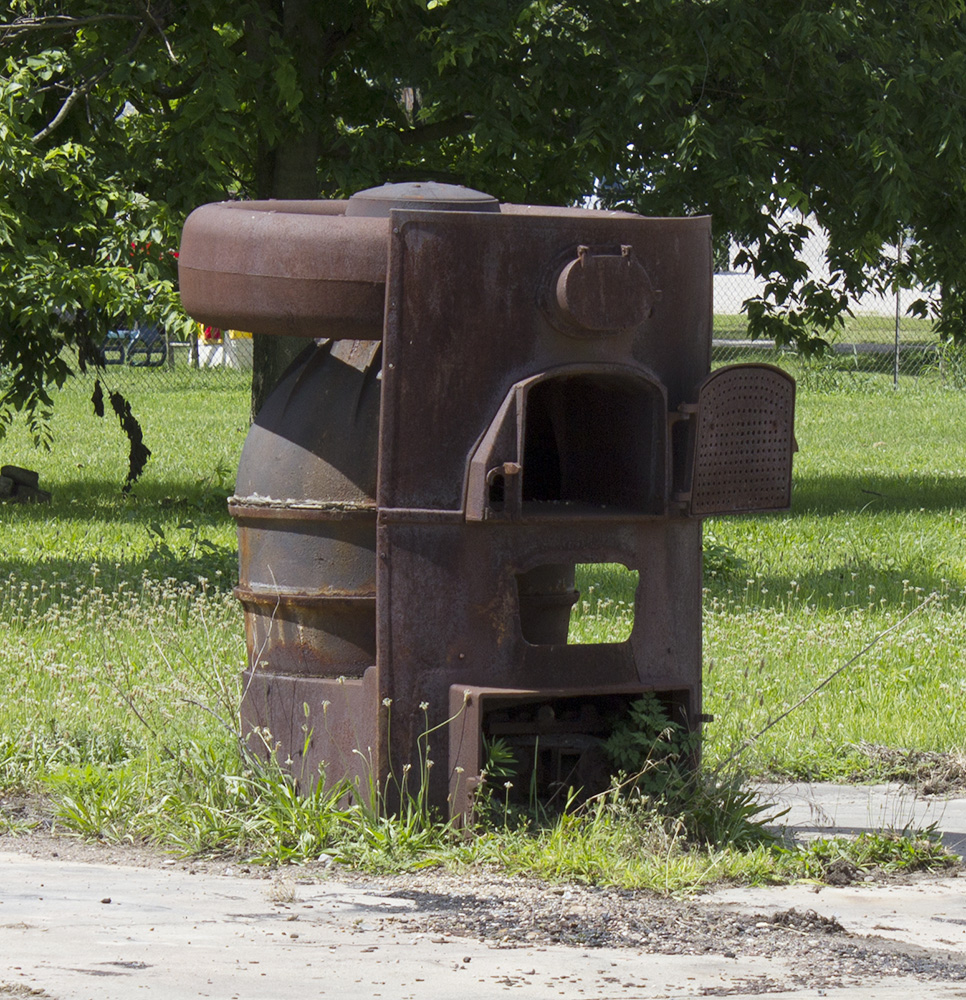 Rurification: Old Coal Stove
