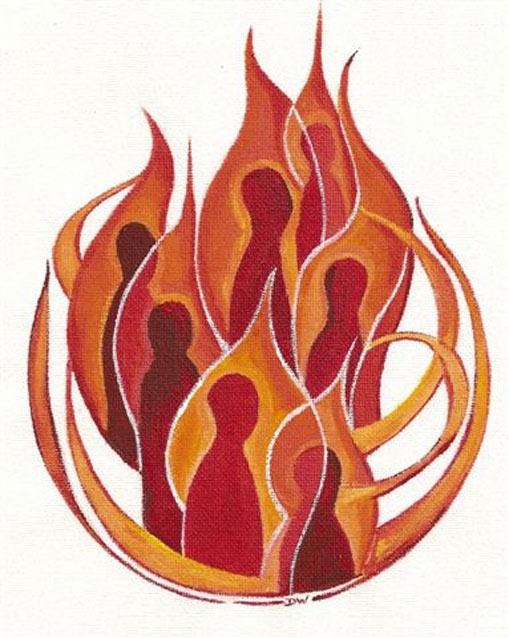 clip art holy spirit fire - photo #44