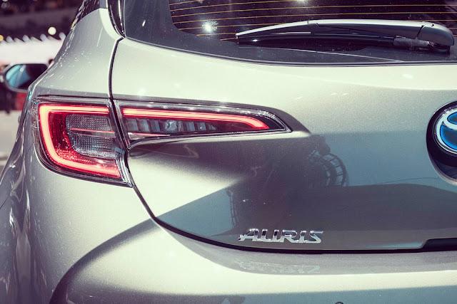 Novo Toyota Auris/Toyota 2019