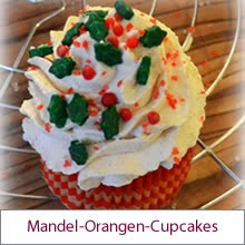 Cupcakes mit Zimtsahne