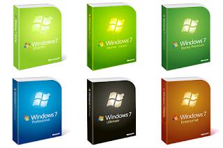 Inilah Jenis-Jenis Versi Windows 7 Dan Perbedaannya