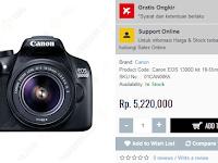 Kamera DSLR murah untuk pemula