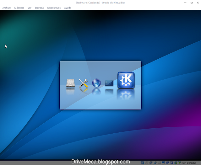 DriveMeca instalando Slackware Linux paso a paso