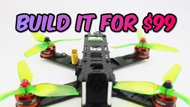 How to Build a Pro Fpv Racing Drone for Only $99 - With UAVfutures