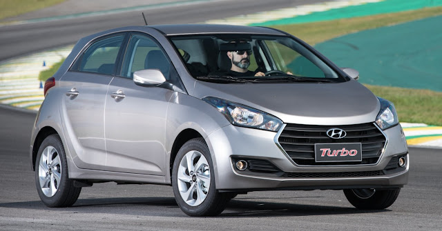 Carro mais vendido do mês: HB20 Turbo