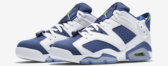 official photos 5ec3e d7510 ... get known as the ghost green edition this air jordan 6 retro low comes  in a