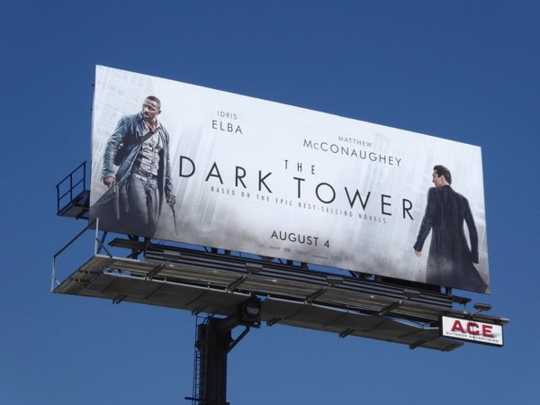Dark Tower movie billboard