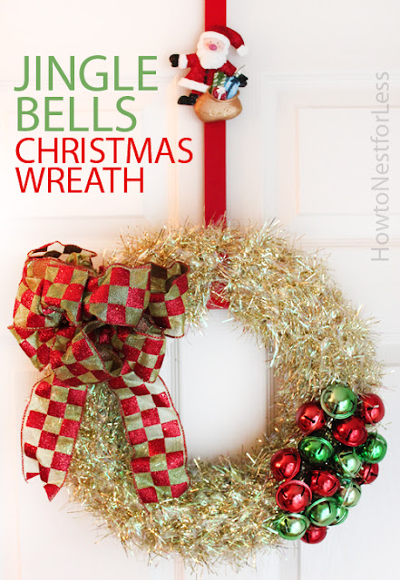 Jingle Bells Christmas Wreath
