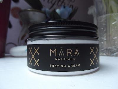 Mara Naturals Jalovcový krém na holenie