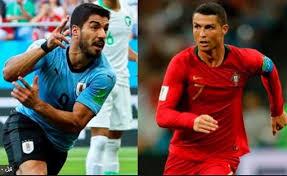 مباراة البرتغال وأوروجواي فى دورال16 كاس العالم 2018