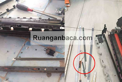 Cara Perbaiki Keramik Fixing Mesin Fotocopy Sering Patah