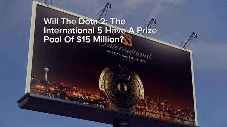 DotA 2: The International 2015 sẽ phá kỷ lục 10 triệu USD tiền thưởng?