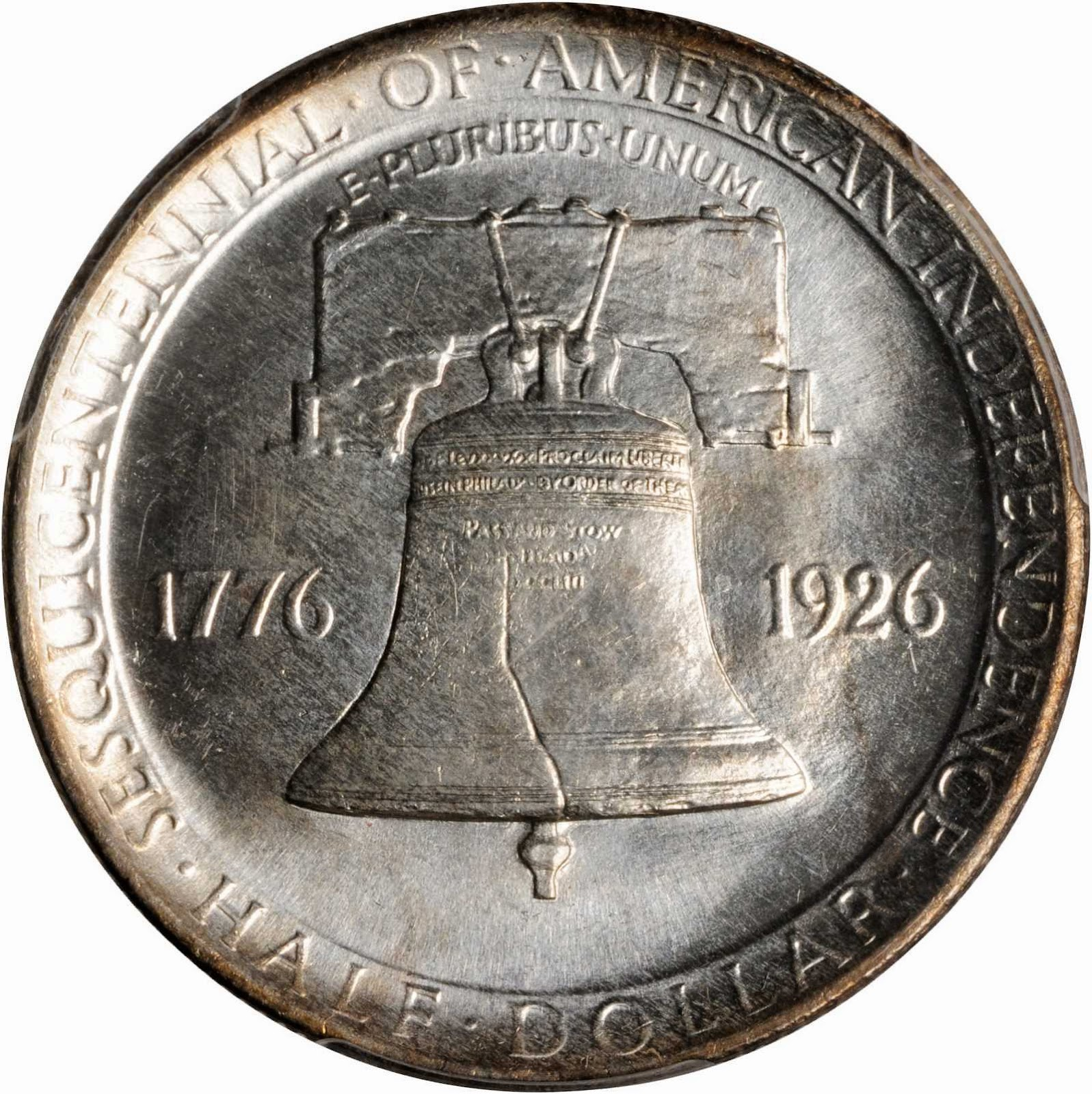 Sesquicentennial of American Independence Commemorative Half Dollar