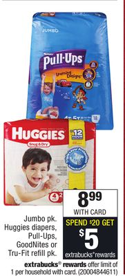 CVS: Huggies Jumbo Packs just $3 66 after stacked offer
