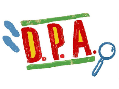 Painel D.P.A. para as decorações de festa infantil