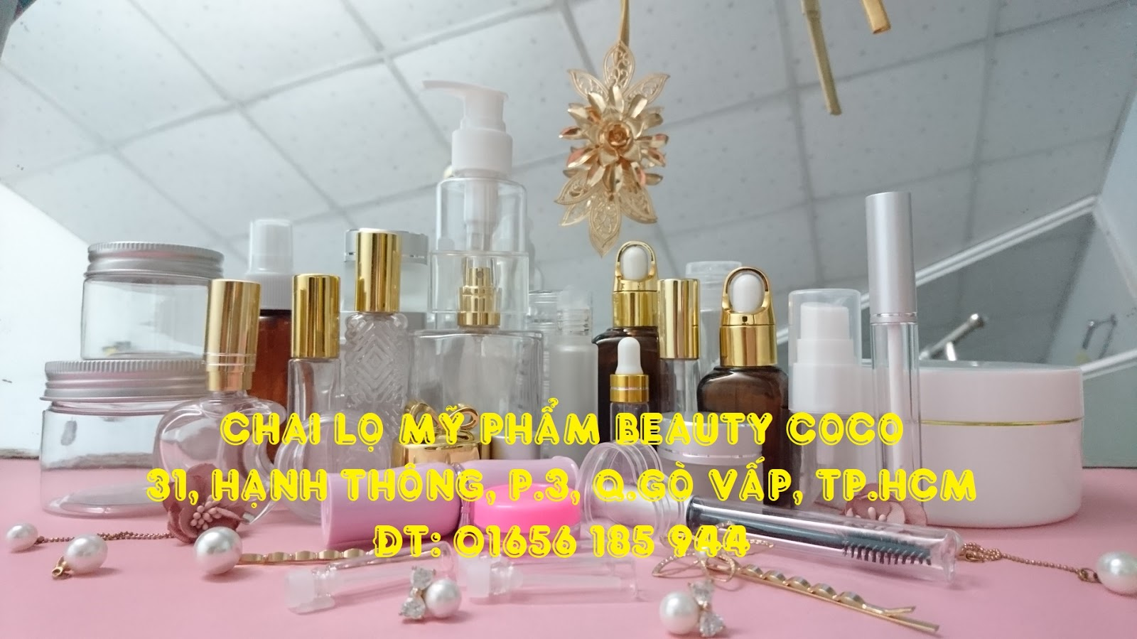 Shop chai lọ Beauty coco