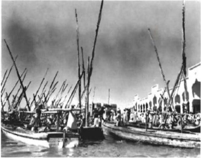 مرسى القوارب في جدة 1940م