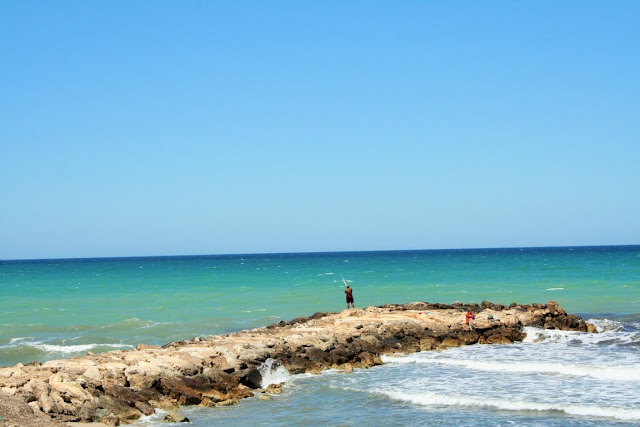 mare, spiaggia, cielo, scogli